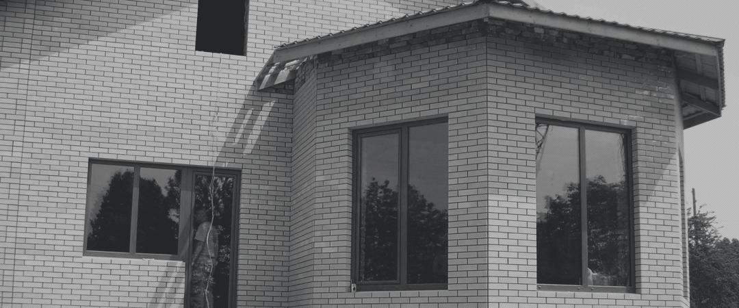 Скління приватного будинку. Запоріжжя, 2006