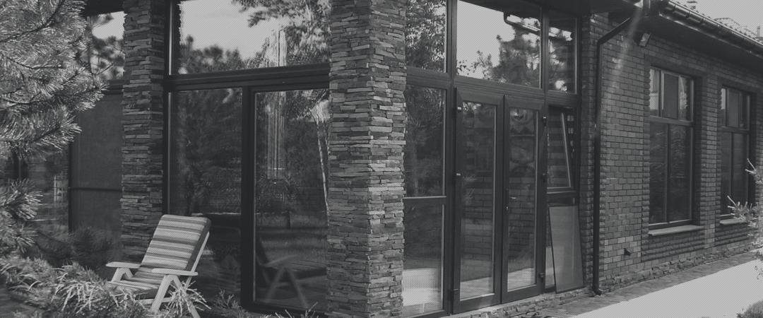 Скління котеджу вікнами ALUPLAST. Запоріжжя, 2015