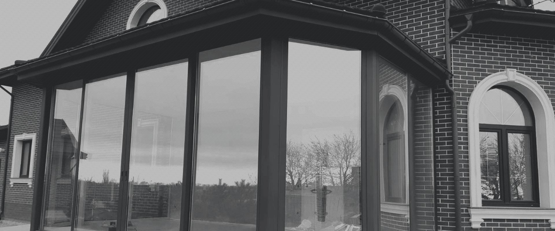 Скління приватного будинку | Запорізька обл., 2017